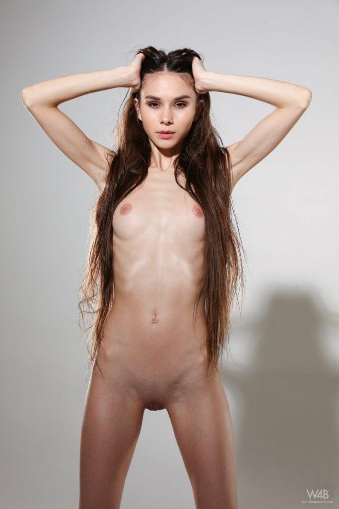 Skinny ass nude