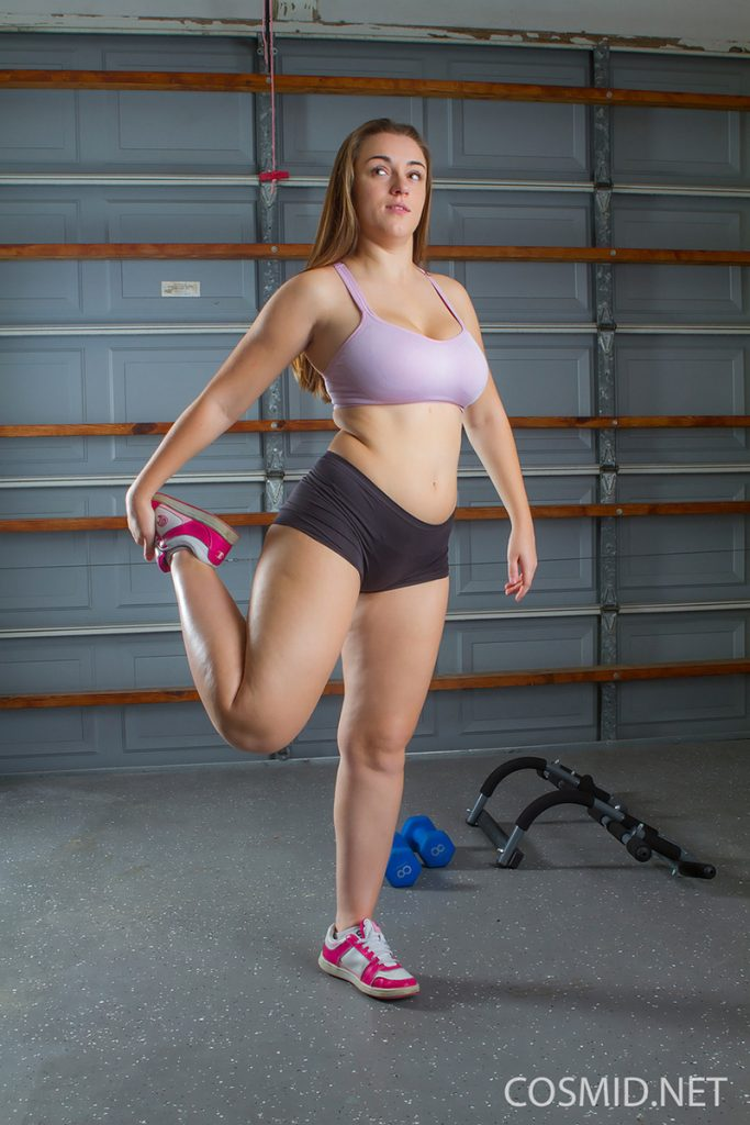 Gym girls chubby sexy in same, infinitely