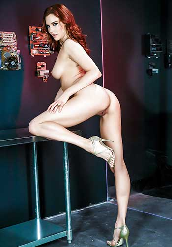 Naked redhead women